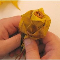 kwiaty z liści - krok 10