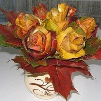 kwiaty z liści - krok 15