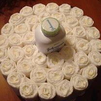 tort z pieluch - krok 4
