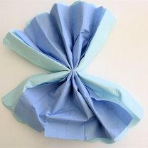 kwiaty z papierowych serwetek - krok 11