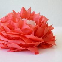 kwiaty z papierowych serwetek - krok 16
