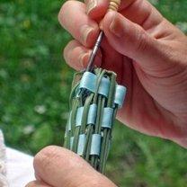 Robienie pałeczki lawendowej 8