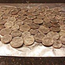 Przyklejanie monet
