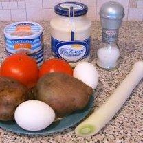 Robienie sałatki warzywnej 1
