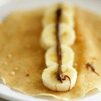 naleśniki z bananami i nutellą - krok 5