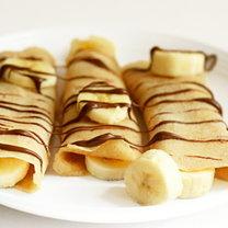naleśniki z bananami i nutellą - krok 6