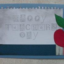 Kartka na Dzień Nauczyciela