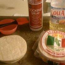 nachos z tortilli - krok 1