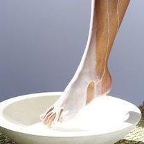 stopy w mleku