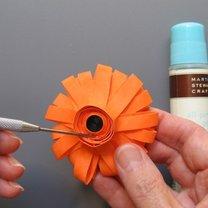 quilling kwiatek 10