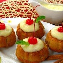 Babeczki z jabłkami i cynamonem