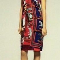 sukienka z chusty