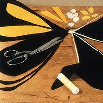 strój motyla - krok 2