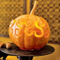 dynia na Halloween - esy floresy