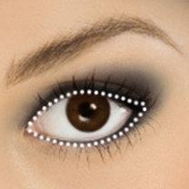 piratka makijaż - krok 2