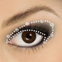 piratka makijaż - krok 3