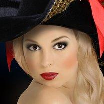 makijaż piratki
