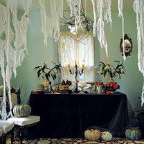 pajęczyna na Halloween