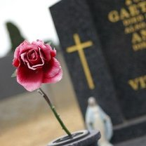 sztuczne kwiaty na cmentarz