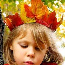 korona z liści