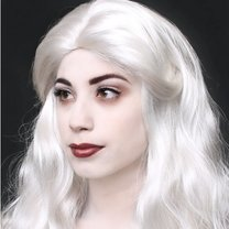 makijaż Królowej Śniegu