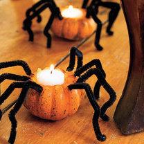 lampion na Halloween – pająk