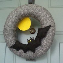 wieniec na Halloween