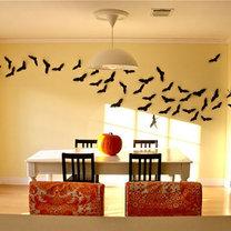 dekoracja ściany na Halloween
