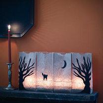 dekoracja na Halloween - lampiony