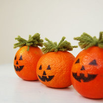 dynie z pomarańczy