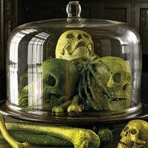 dekoracja na Halloween – czaszki