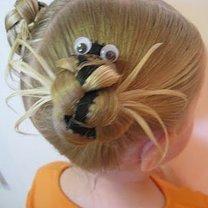 pająk z włosów