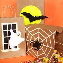 Torby na słodycze na Halloween