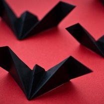 nietoperz origami