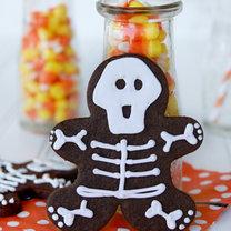 czekoladowe szkielety