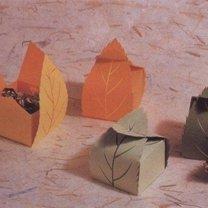 Jesienne pudełeczka na prezenty