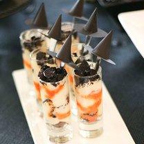 słodki deser na Halloween