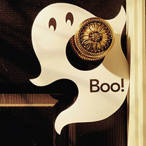 zawieszka na drzwi duch