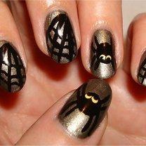 paznokcie na Halloween - krok 8