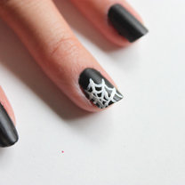 paznokcie pajęczyna - krok 4