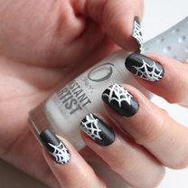 paznokcie pajęczyna - krok 5