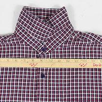 Spódnica z męskiej koszuli 1