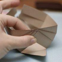 koszyczek z papieru - krok 5