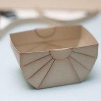 koszyczek z papieru - krok 7