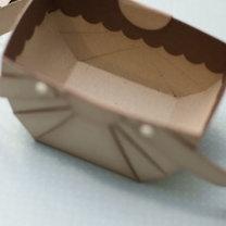 koszyczek z papieru - krok 10