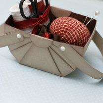 koszyczek z papieru - krok 11