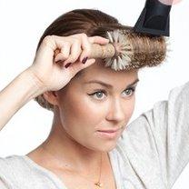 Suszenie włosów na szczotce 2