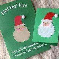 Kartka z Mikołajem dla dzieci