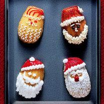 ciastka świąteczne - Mikołaje