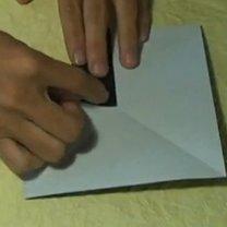 Pierścionek origami 3
